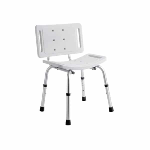 Shower Chair With Adjustable Legs - Bathroom Safety Supplies