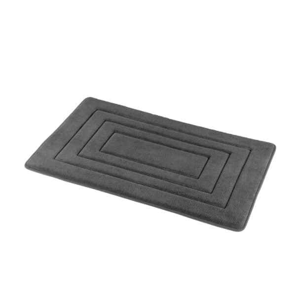 Academy Memory Foam Bath Mat Grey - Bathroom Mats