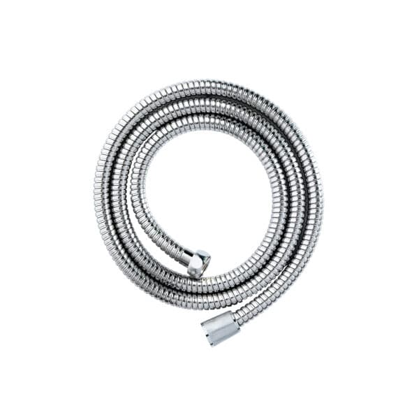 Double Spiral Hose 2m x 8mm Chrome - Shower Accessories