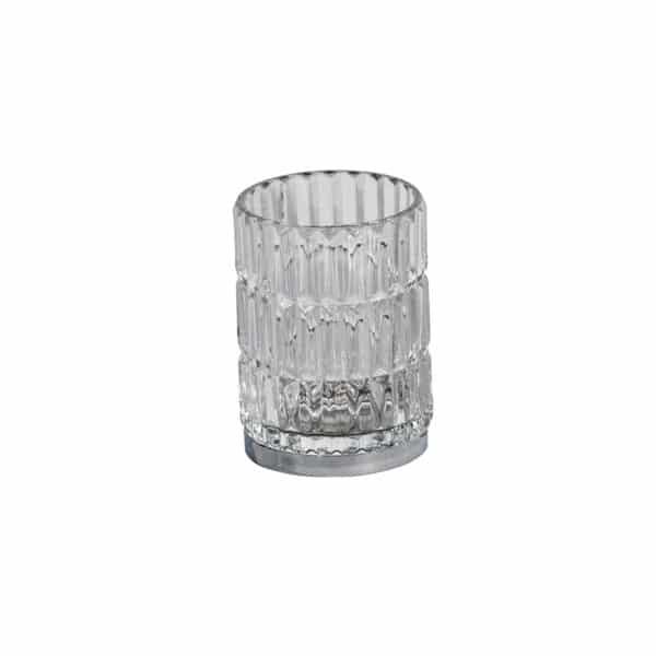 Elegance Glass Tumbler - Bathroom Tumblers