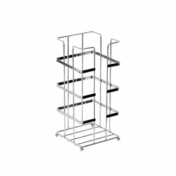 Esquire Wire Spare Paper Holder Chrome - Free Standing Toilet Roll Holders