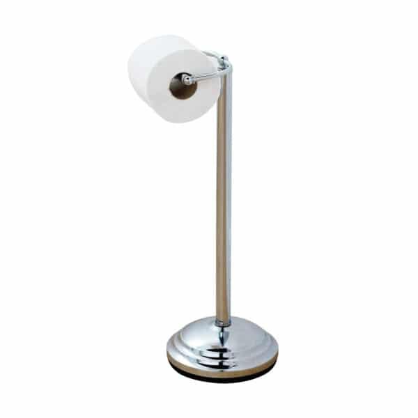 Floor Standing Toilet Roll Holder - Free Standing Toilet Roll Holders