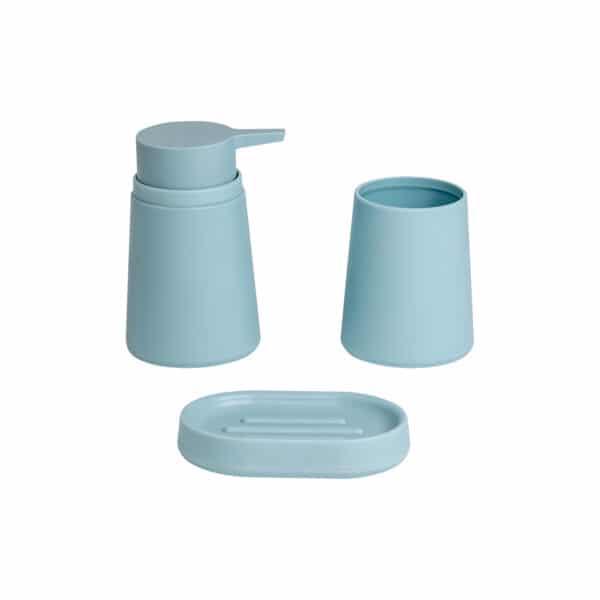 Garda Collection Duck Egg 3 Piece Set - Bathroom Accessory Sets