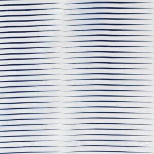 Horizon Polyester Shower Curtain Blue - Shower Accessories