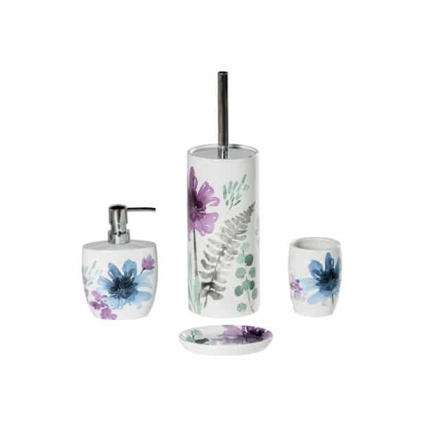 Jardenia Collection 4 Piece Set - Bathroom Accessory Sets