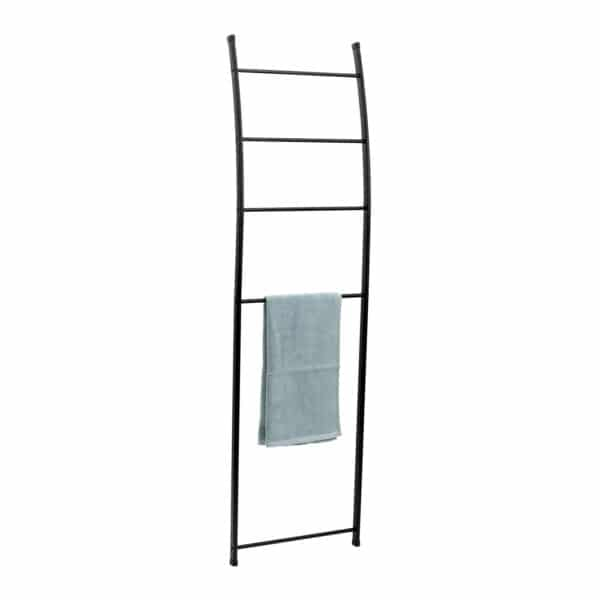 Loft Towel Rail Ladder Matt Black - Free Standing Towel Rails