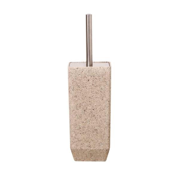 Metro Sand Toilet Brush & Holder - Toilet Brushes