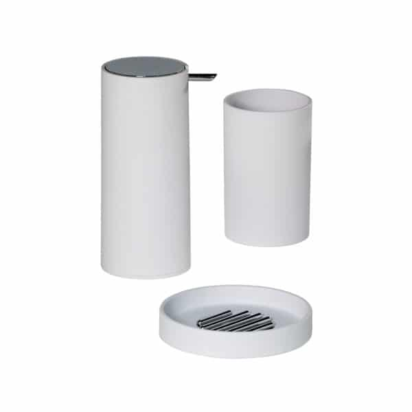 Nordic Collection 3 Piece Set - Bathroom Accessory Sets