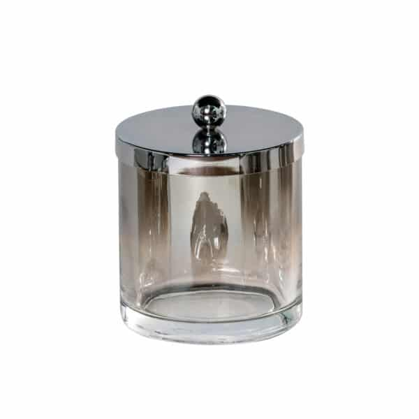 Ombre Glass Large Storage Jar - Tissue Box Holders
