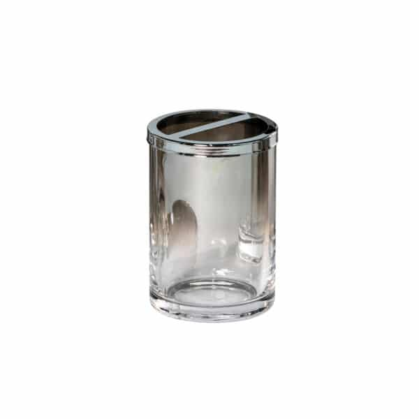 Ombre Glass Toothbrush Holder - Toothbrush Holders