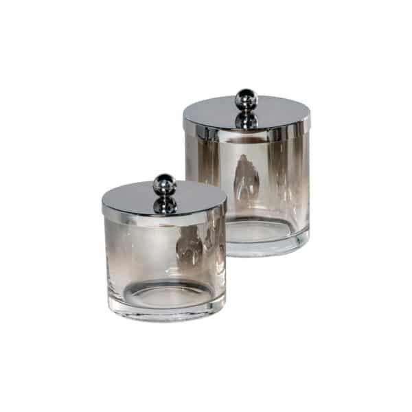 Ombre Collection 2 Piece Jar Set - Tissue Box Holders