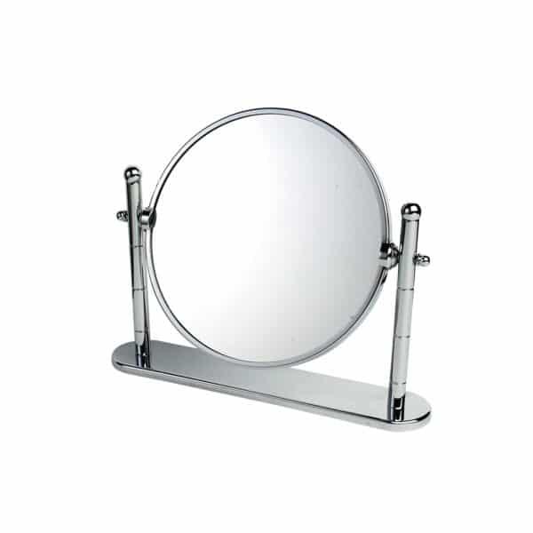 Omega Chrome On Brass Vanity Mirror - Bathroom Mirrors