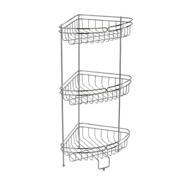 Phoenix Corner Floor Caddy - Bathroom Caddies and Baskets