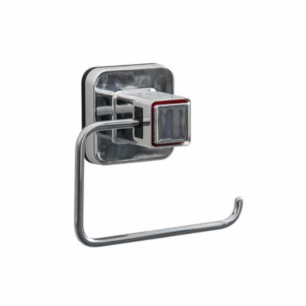 Pushloc Toilet Roll Holder - Super Suction Bathroom Accessories