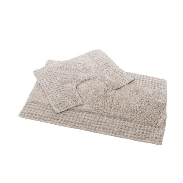 San Marino 2 Piece Cotton Bath Mat Set Mocha - Bathroom Mats