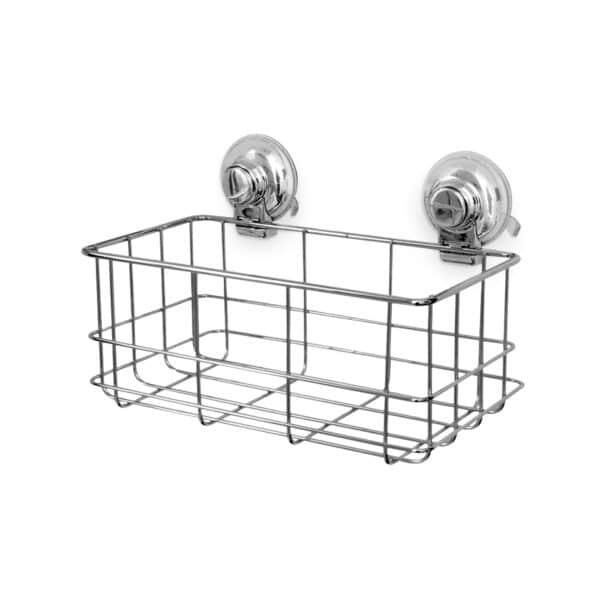 Super Suction Vertex Bottle Basket - Bathroom Caddies and Baskets