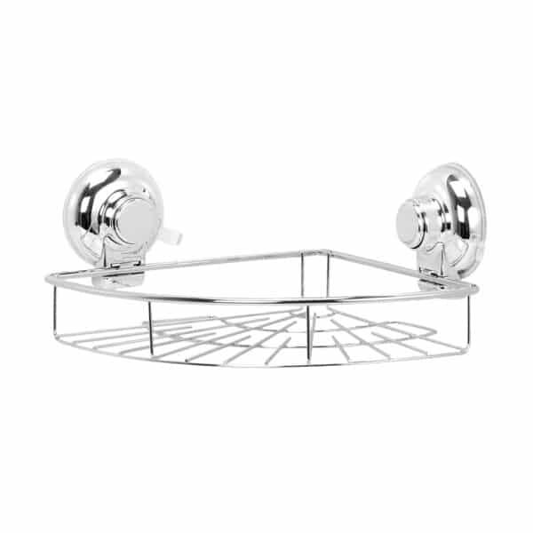 Super Suction Vertex Corner Basket - Bathroom Caddies and Baskets