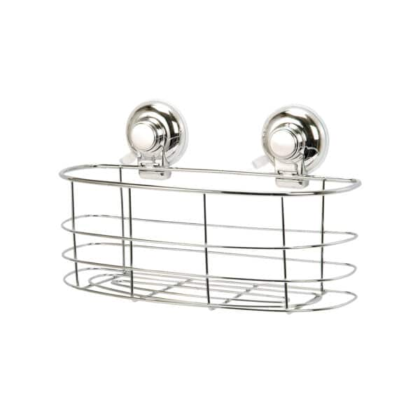 Super Suction Vertex Collection Oval Basket - Bathroom Caddies and Baskets