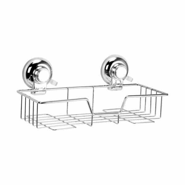 Super Suction Vertex Rect. Basket - Bathroom Caddies and Baskets