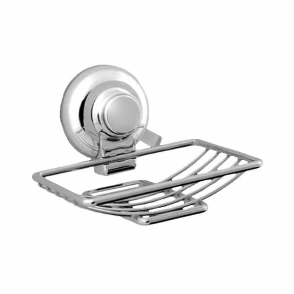 Super Suction Vertex Soap Basket - Bathroom Caddies and Baskets