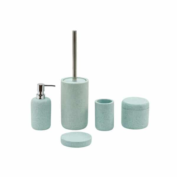Terrazzo Collection 5 Piece Set - Bathroom Accessory Sets