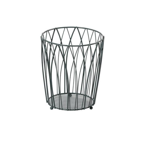 Vista Waste Paper Basket Grey - Bathroom Bins
